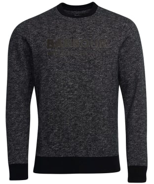 Men's Barbour International Balance Crew Sweater - Black