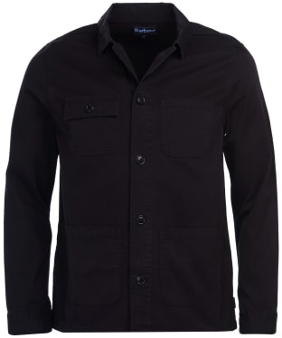 Men's Barbour Balintore Overshirt - Black