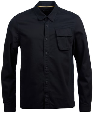 Men's Barbour International Contact Overshirt - Black