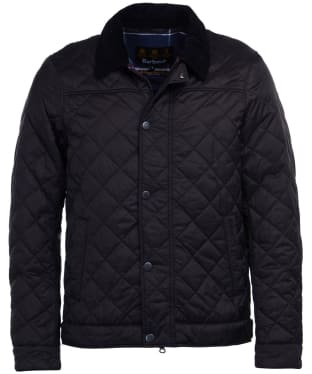 Men's Barbour Lemal Quilted Jacket - Black