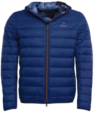 Men's Barbour Harg Quilted Jacket - Regal Blue
