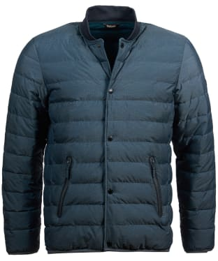 Men's Barbour International Redwell Quilted Jacket - Benzine