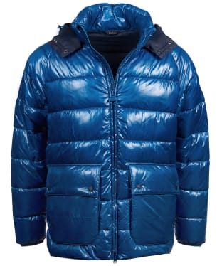 Men's Barbour International Keyes Quilted Jacket - Aqua