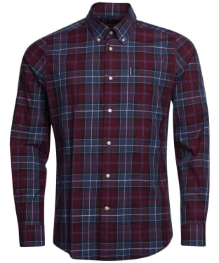 Men's Barbour Connel Shirt - Merlot