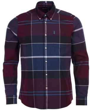 Men's Barbour Cannich Shirt - Merlot