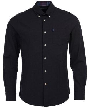 Men's Barbour Aviemore Shirt - Dark Grey Marl