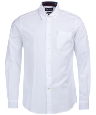 Men's Barbour Aviemore Shirt - White