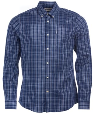 Men's Barbour Highland Check 23 Tailored Shirt - Indigo Check