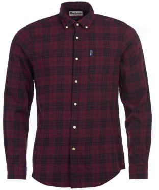 Men's Barbour Country Check 7 Tailored Shirt - Merlot