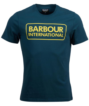 Men's Barbour International Essential Large Logo Tee - Benzine