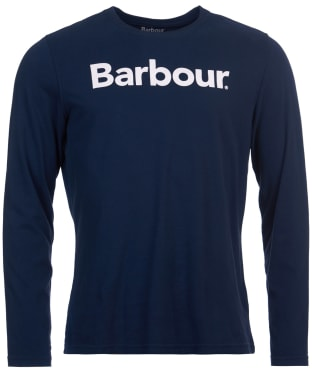 Men's Barbour Roanoake Long Sleeve Tee - New Navy