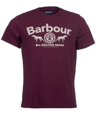 Men's Barbour Max Graphic Tee - Merlot