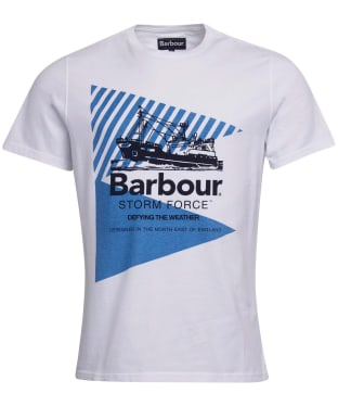 Men's Barbour Vessel Graphic Tee - White