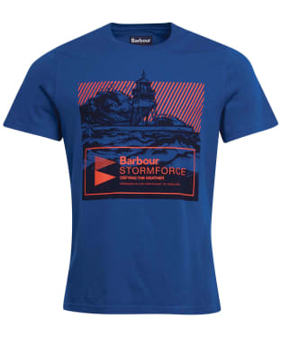 Men's Barbour Break Graphic Tee - Monaco Blue