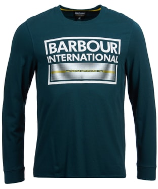 Men's Barbour International System Long Sleeve Tee