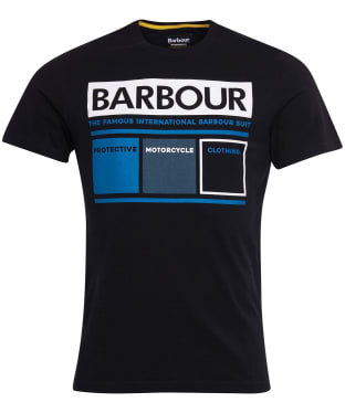 Men's Barbour International Squares Tee