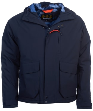 Men's Barbour Broomfield Waterproof Jacket - Navy