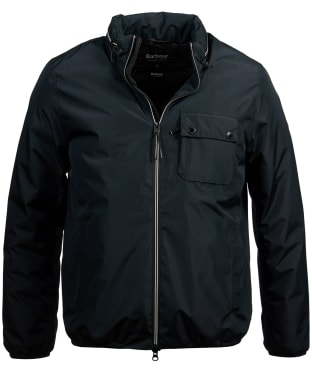 Men's Barbour International Kirby Waterproof Jacket - Black