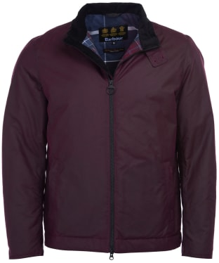 Men's Barbour Barnby Waxed Jacket - Merlot