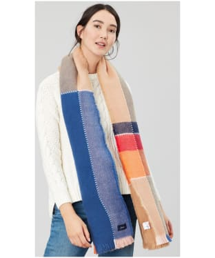 Women's Joules Stamford Check Scarf