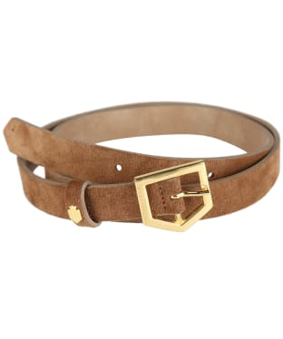 Women's Fairfax & Favor Sennowe Belt - Tan Suede