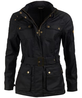 Women's Barbour International Bearings Casual Jacket - Black Tonal