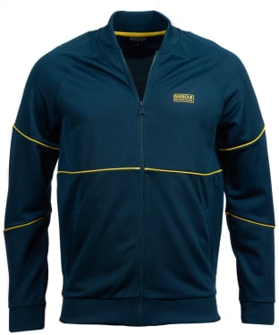 Men's Barbour International Pipe Track Top - Benzine
