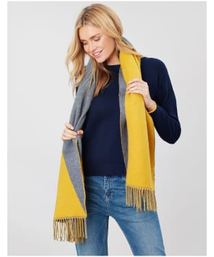 Women's Joules Langford Reverse Triangle Scarf