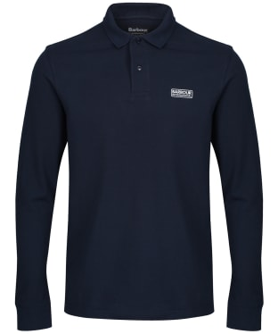 Men's Barbour International Long Sleeve Polo Shirt - International Navy