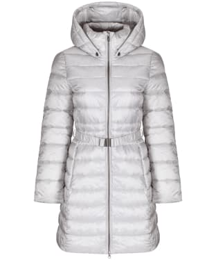 Women's Barbour Murray Quilted Jacket - Ice White