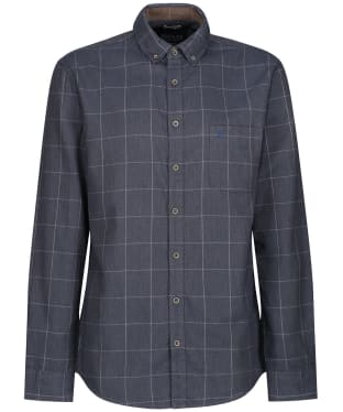 Men's Joules Barbrook Flannel Shirt - Navy Overcheck