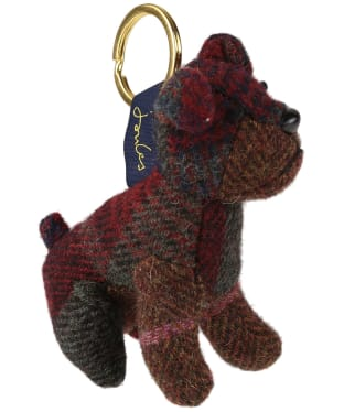 Joules Tweedle Novelty Keyring - Dog