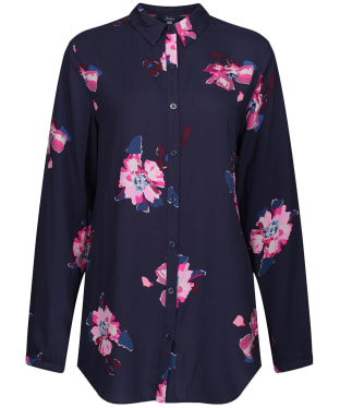 Women's Joules Elvina Woven Top - Navy Spaced Floral