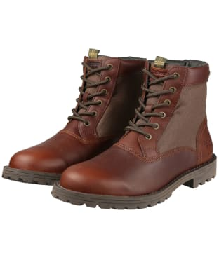 Men's Barbour Cheviot Derby Boots - Hickory