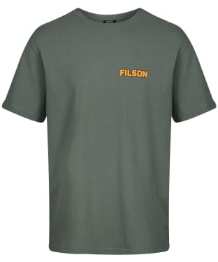 Men's Filson Short Sleeve Outfitter Tee - Service Green