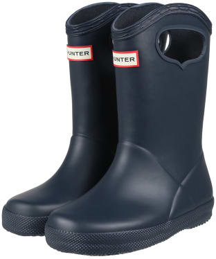 Hunter Kids First Classic Pull-On Wellingtons - Navy