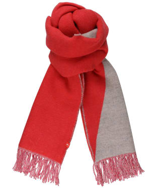 Women's Joules Langford Reverse Triangle Scarf - Poppy