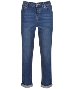 Women's Joules Simone Girlfriend Jeans - Blue