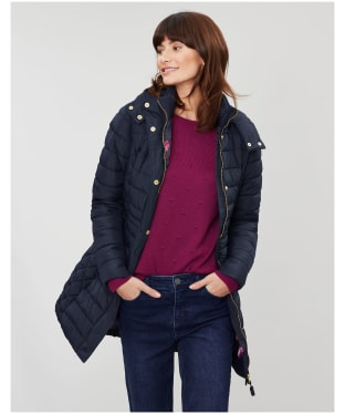 Women's Joules Thirlmere Longline Padded Coat