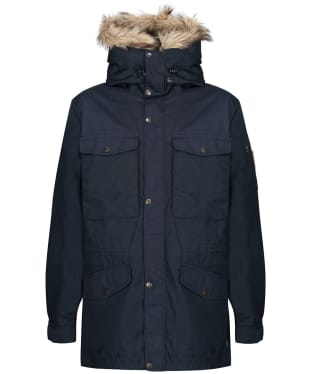 Men's Fjallraven Singi Winter Jacket - Dark Navy