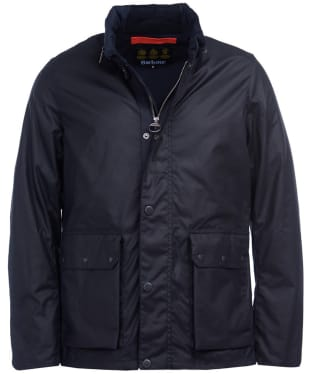 Men's Barbour Alma Waxed Jacket - Royal Navy