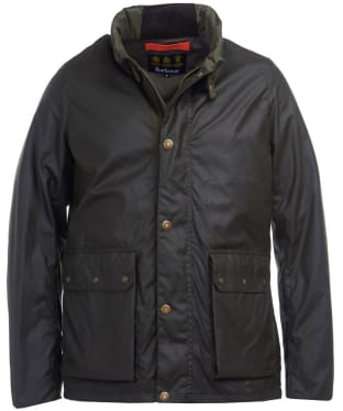 Men's Barbour Alma Waxed Jacket - Archive Olive
