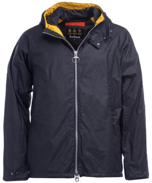 Men's Barbour Orta Waxed Jacket - Royal Navy
