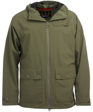 Men's Barbour Weld Waterproof Jacket - Light Moss