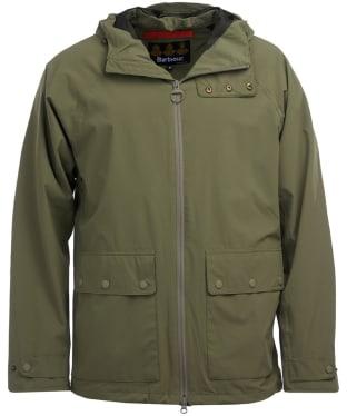Men's Barbour Weld Waterproof Jacket - Light Moss