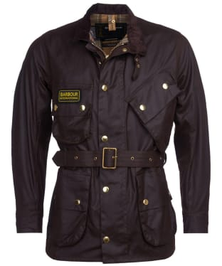 Men's Barbour International Original Wax Jacket - Rustic