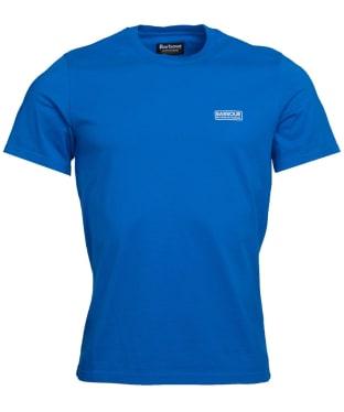 Men's Barbour International Small Logo Tee - Neela Blue