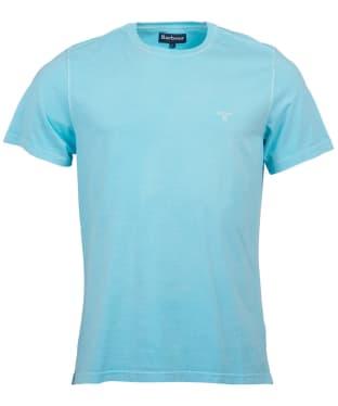 Men's Barbour Garment Dyed Tee - Aquamarine