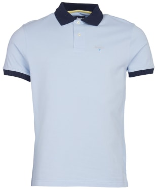 Men's Barbour Lynton Polo - Heritage Blue