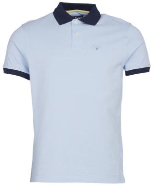 Men's Barbour Lynton Polo - Heritage Blue